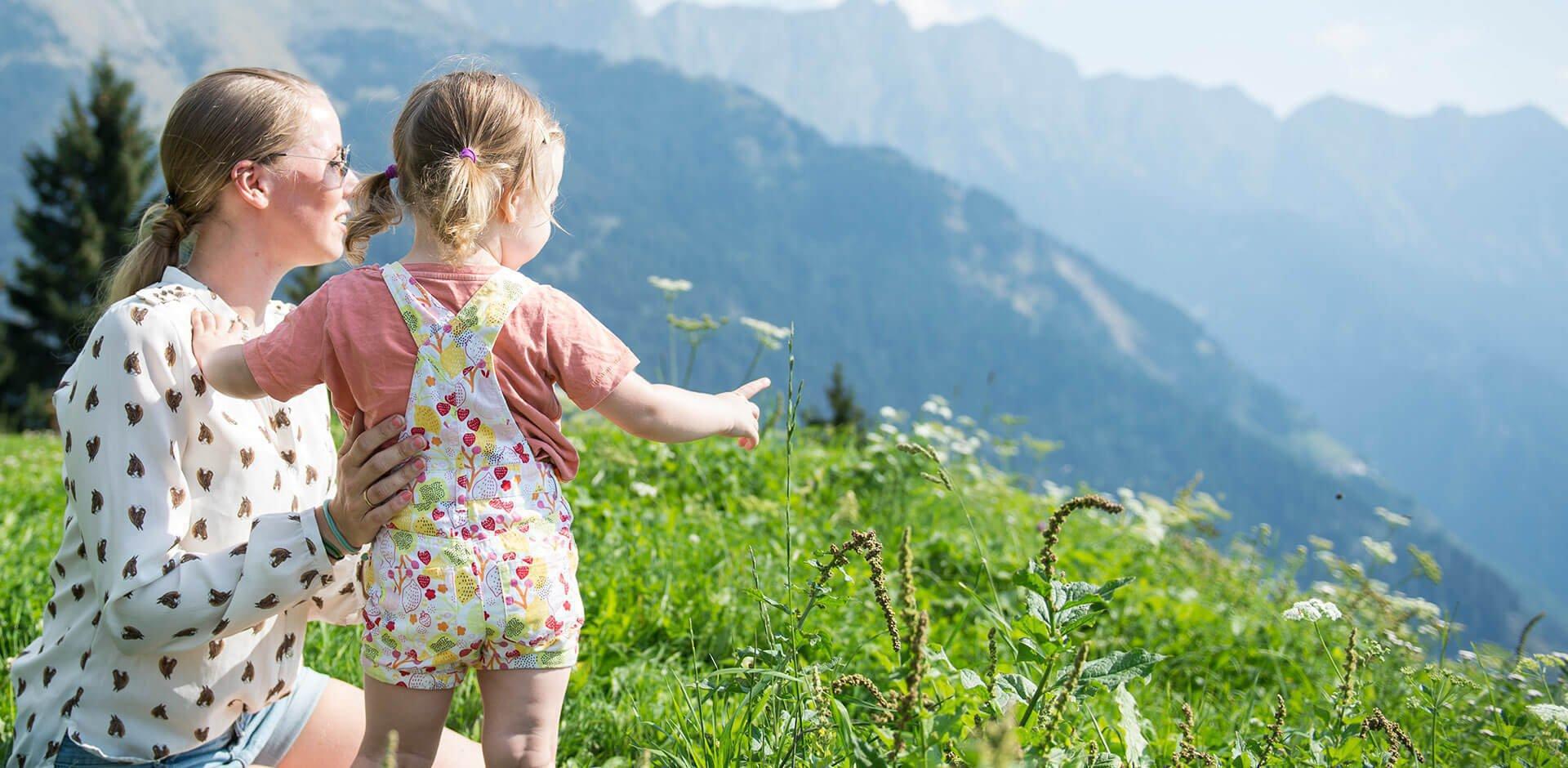 Alles bereit zum Bauernhofurlaub mit Kindern in Südtirol