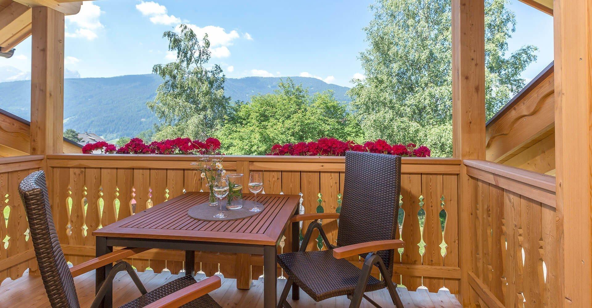 Ferienwohnung in Taisten Welsberg