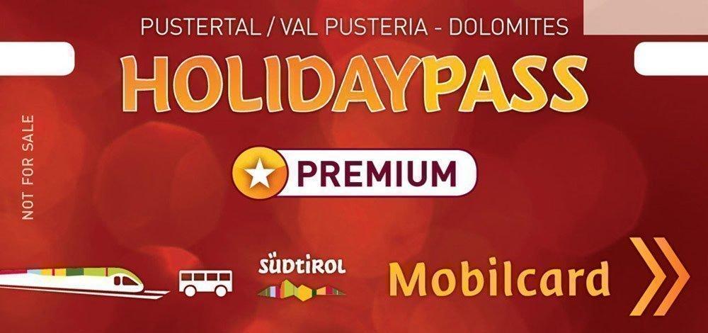Con l'HolidayPass Premium attraverso la Val Pusteria!
